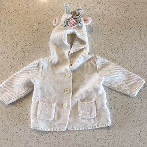 GAP Knit Unicorn Sweater